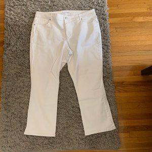 White Jeans (LOFT)